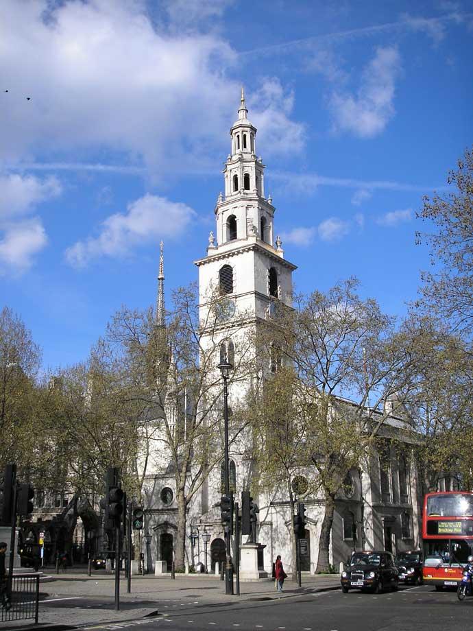 St Clement Danes Church