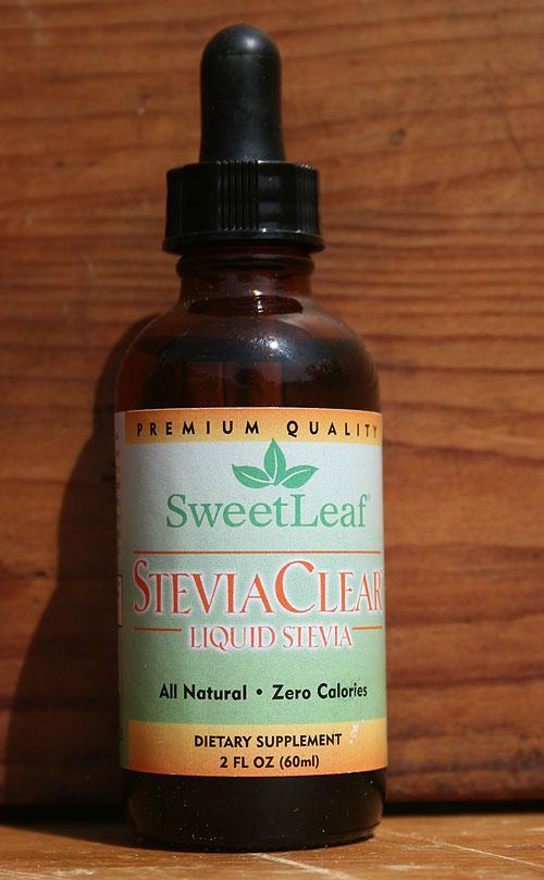 Clear liquid stevia