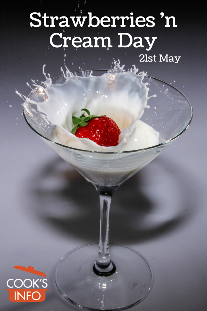 Strawberries 'n Cream Day
