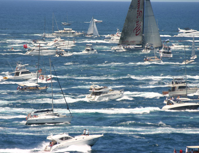 Sydney to Hobart Yacht Race, Boxing Day. Sydney. 26 December 2005