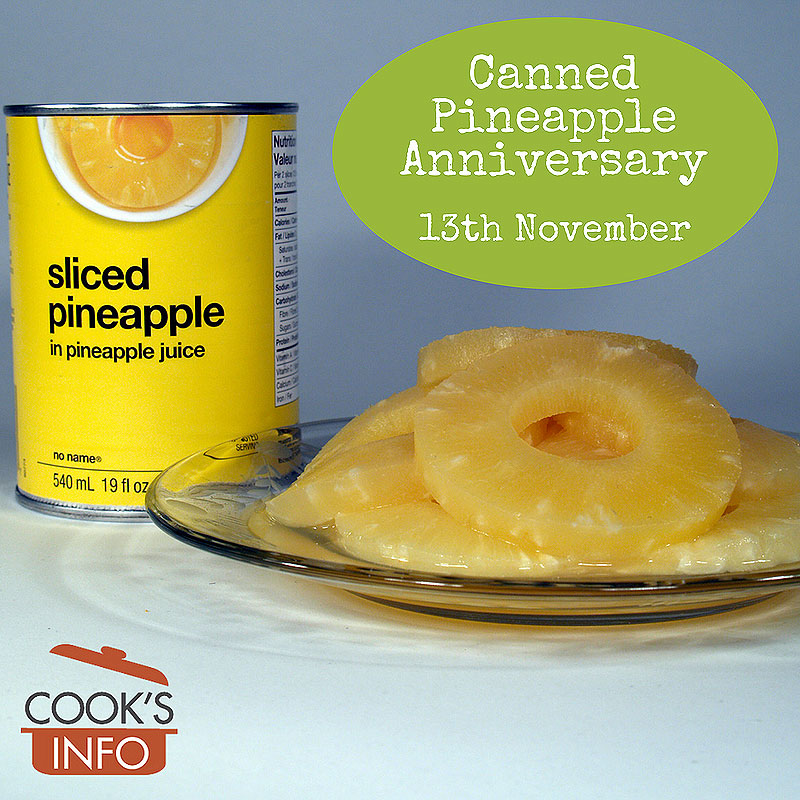 Tinned Pineapple Anniversary