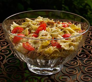 Tuna Pasta Salad with Pesto Recipe
