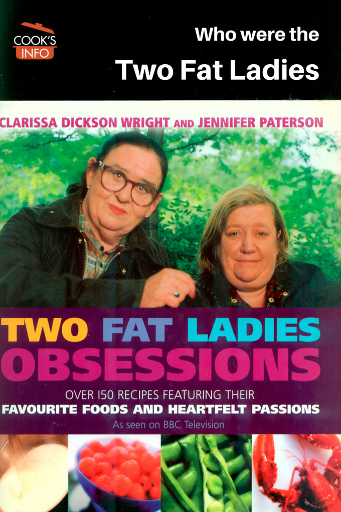 Two Fat Ladies Obsessions Book
