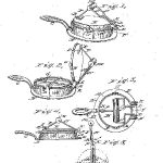 Cornelius Swarthout waffle iron design 1869. First American patent for an improved waffle iron.