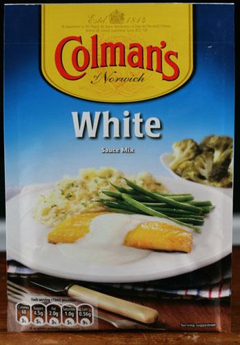 White sauce mix