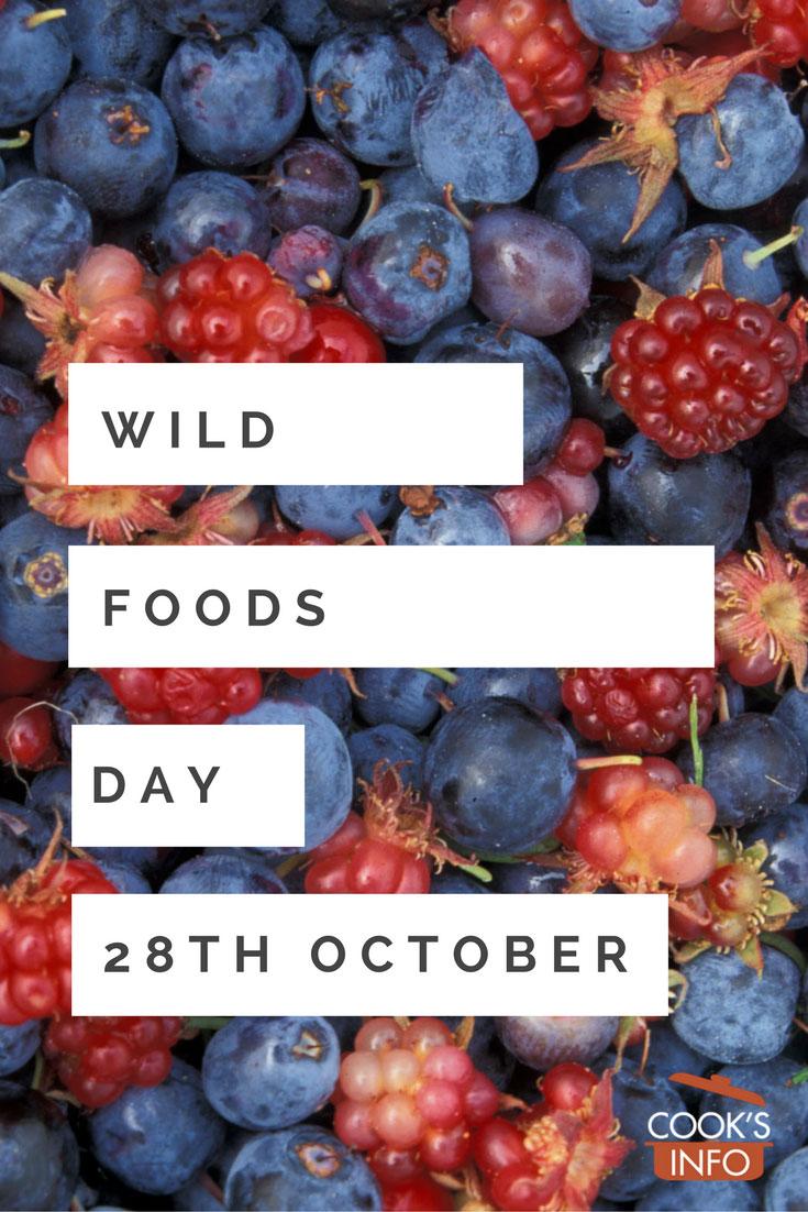 Wild Foods Day